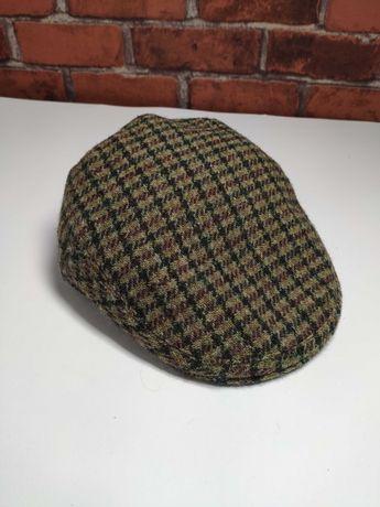 Твидовая шерстяная кепка воровка Harris Tweed XL