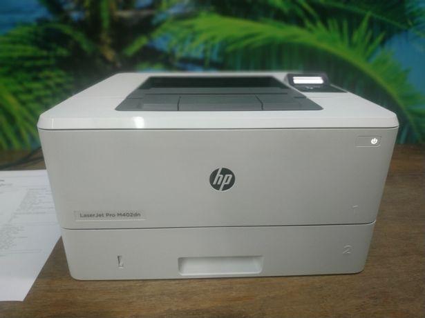 Принтер HP Laser Jet M402dn пробег 7600 оттисков