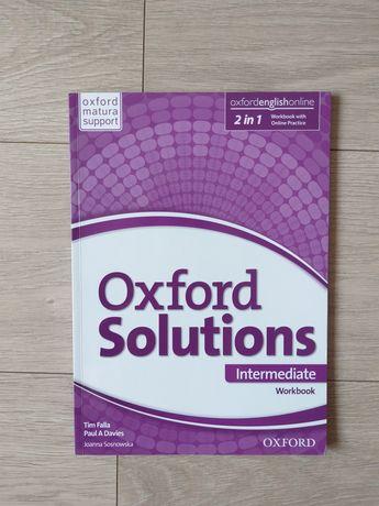 Ćwiczenia Oxford Solutions intermediate