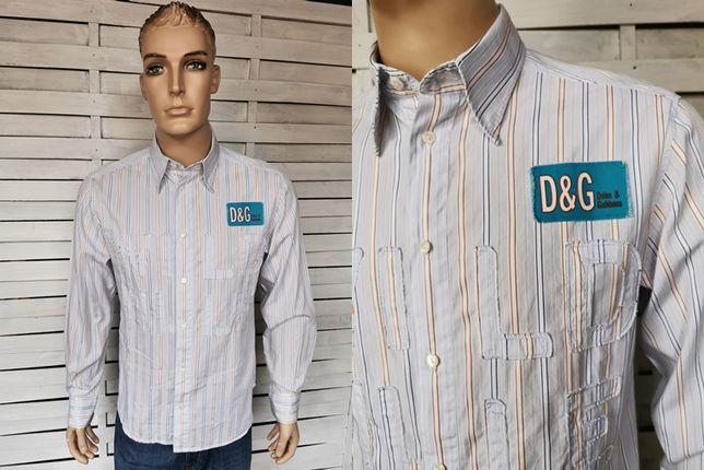 Dolce & Gabbana hologram koszula męska ORYGINALNA NOWA S/M