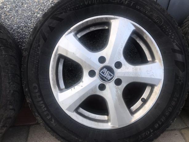 диски OZ MSW r16 Mercedes Vito 447 639 vw 5x112 ET50