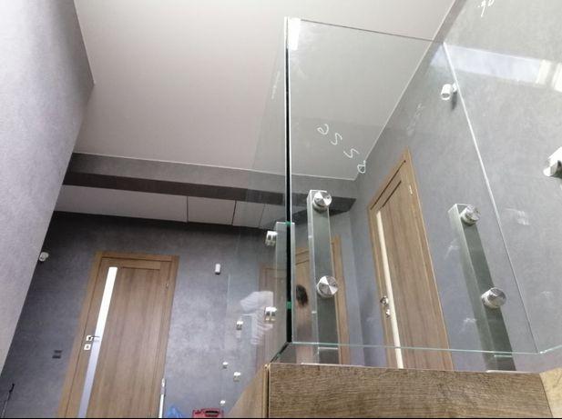 Скляні душові кабіни, перегородки,перила,двері.Доставка БЕЗКОШТОВНА.