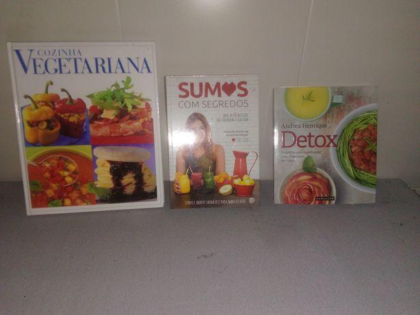 Livros de cozinha vegetariana
