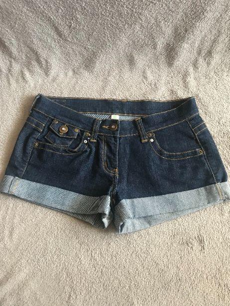 Szorty dżinsowe - krótkie