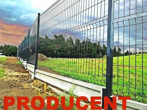 Ogrodzenia panelowe słupki panele ogrodzeniowe montażyści najtaniej
