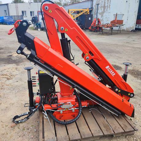HDS Żuraw XF3002A Idealny żuraw na podwozie do 3,5T Zasięg 6,60M
