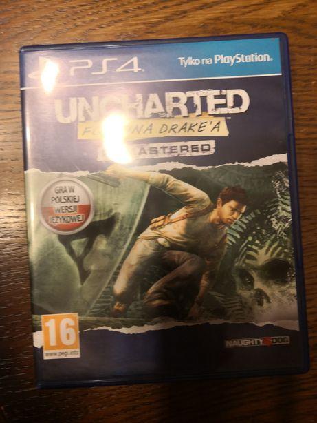 Uncharted Gra PS4 CZ. 1