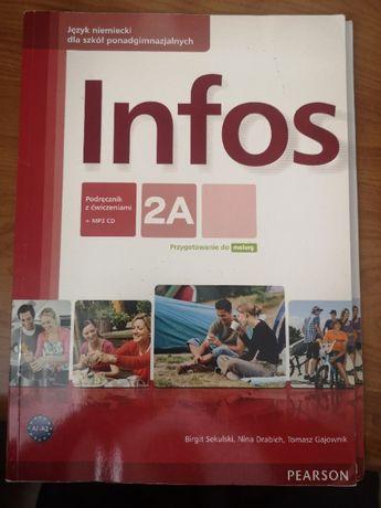 Podręcznik z ćwiczeniami INFOS 2A