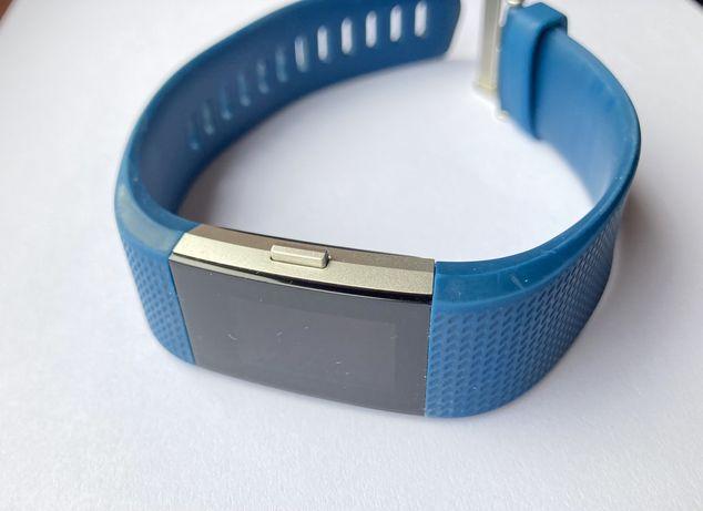 Fitbit charge 2 - caixa completa - azul