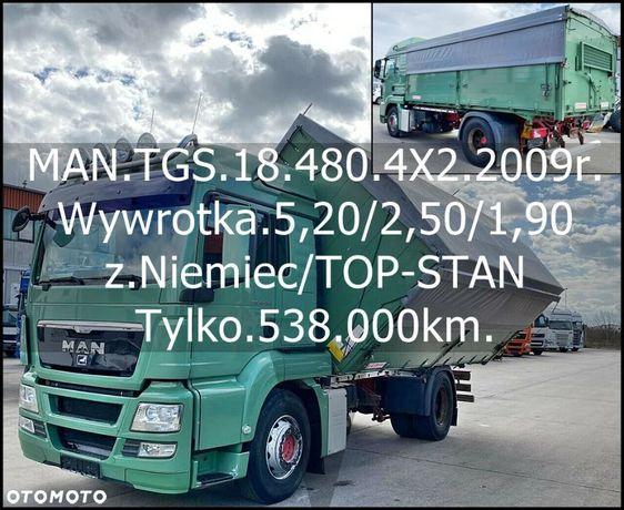 MAN Bezwypadkowy_Serwisowany_TOP-STAN  TGS.18.440/4X2/2.Str.Wywrotka.KEMPF/Resor/z.Niemiec