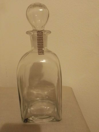 Garrafa de vidro para vinho