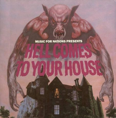 Hell Comes To Your House-Tonpress 1985- Vinyl-Compilation