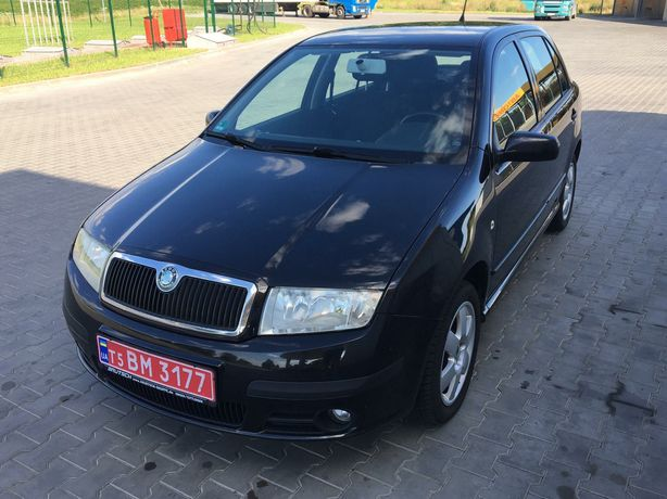 Автомобіль Skoda Fabia MPI
