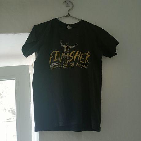 Чёрная футболка унисекс ROLY