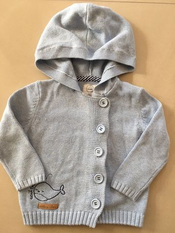 Sweter rozpinany dla chlopca Smyk r.80