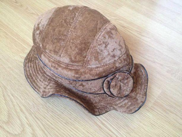 Шляпа женская коричневая infly