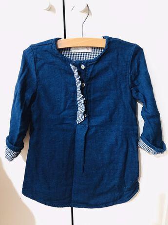 Sukienka jeansowa 98 zara