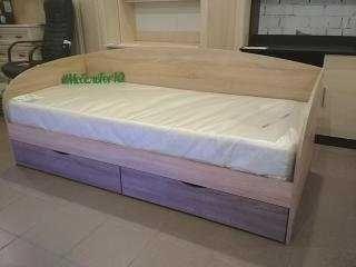 Кровать Комфорт + матрас ортопедический. Расцветки в наличии