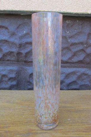 58 Wazon flakon dzbanek szklany pomarańczowa mozaika WYSYŁKA