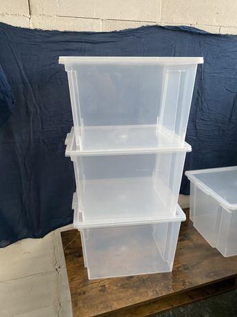 Zestaw 3 pojemników do przechowywania