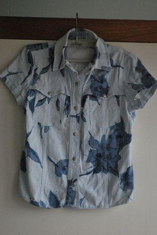 Camisa Homem de Ganga Marca On Jeans (Design By Onara) Tamanho S - 36
