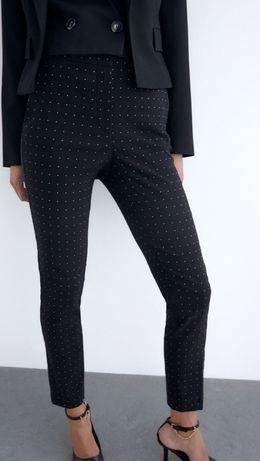 Spodnie damskie dopasowane cygaretki