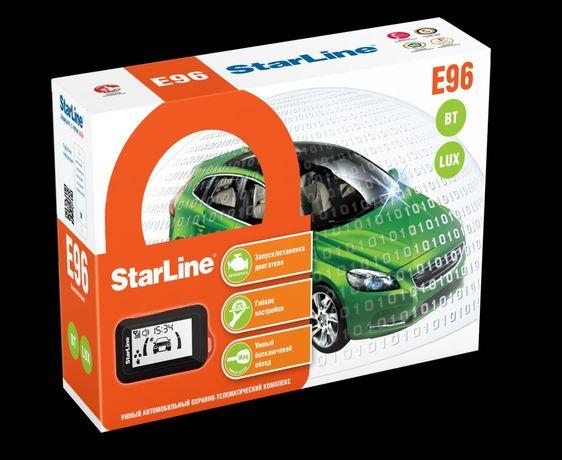 Установка, продажа автосигнализаций Starline/Pandora. Автозапуск, GSM