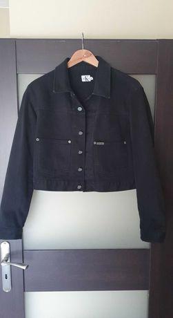 Czarna kurtka jeansowa Calvin Klein rozmiar M
