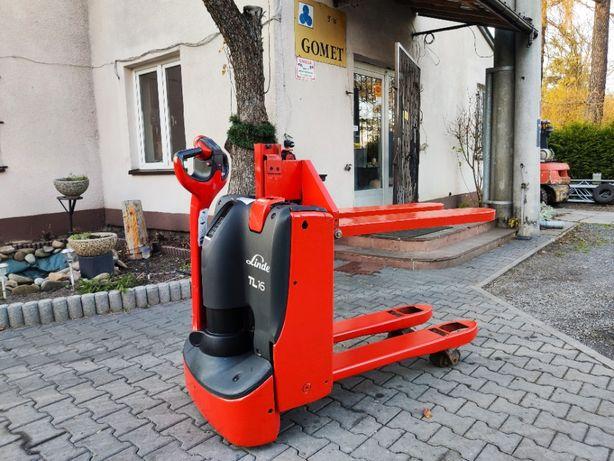 Wózek widłowy paletowy Linde TL16 elektryczny