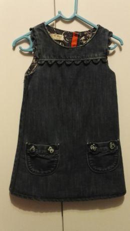 Sukienka jeansowa rozm. 98