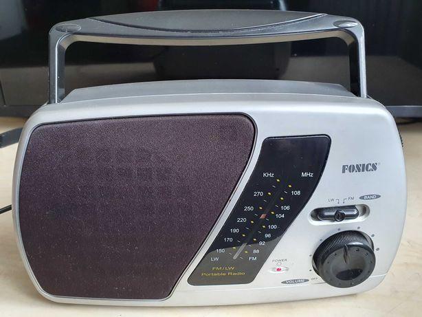 Radio przenośne - proste, nieduże za małe pieniądze - sprawne!