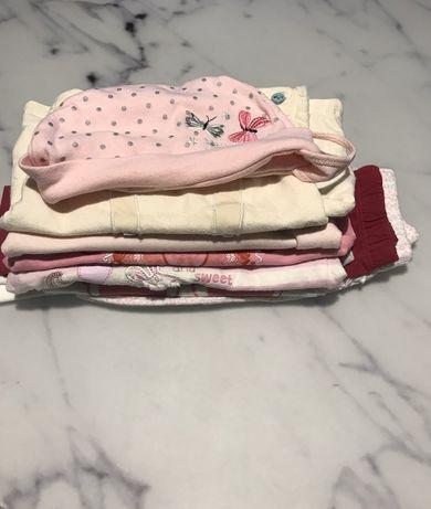 Paczka, paka, zestaw ubranek dla dziewczynki 62 cm