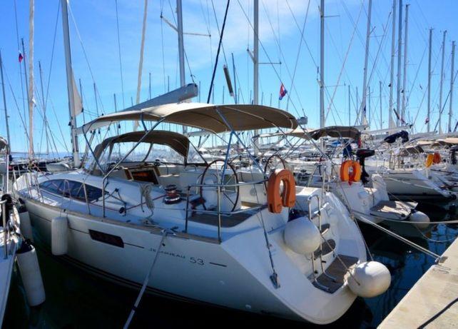 Jacht żaglowy Jeanneau 53, 2011r.