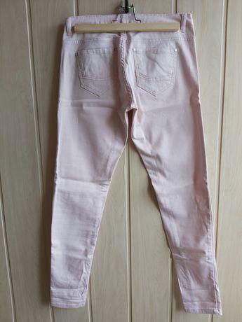 Różowe spodnie Cropp r. S