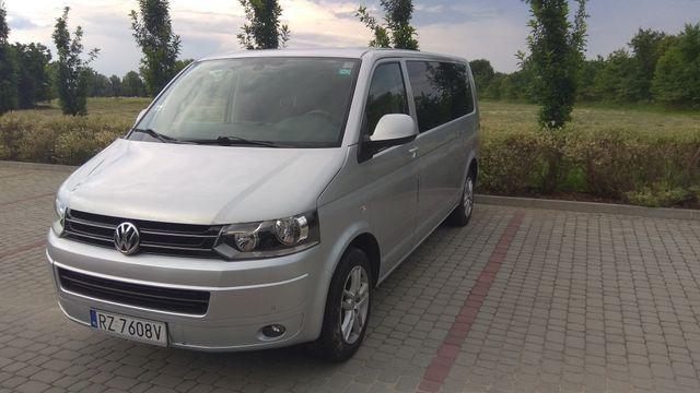 OKAZJA ZAMIANA VW transporter T5 Minivan 2.0 automat DSG 9-cio osobow