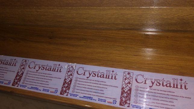 Підвіконник Crystallit кольору горіх