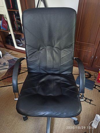 Кресло офисное экокожа