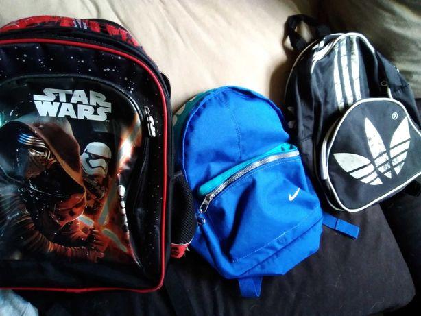 Plecak tornister Nike Adidas Star Wars