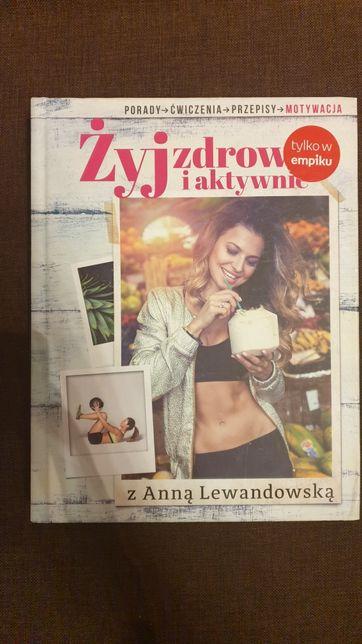 Książka Żyj zdrowo i aktywnie Anna Lewandowska