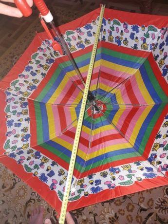 Dziecięca parasolka parasol kolorowy automat od słońca na deszcz super