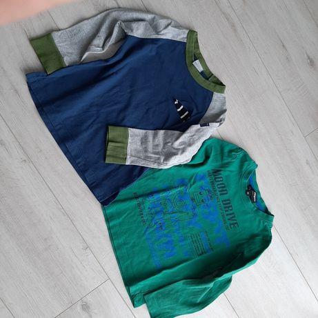 Bluzeczki na długi rękaw r.98
