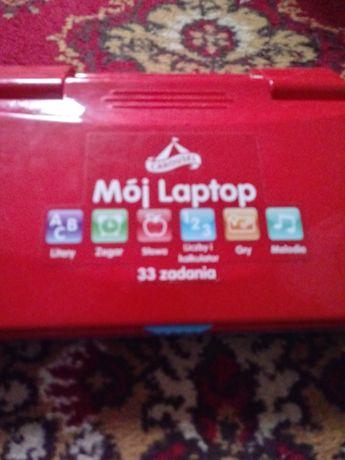 Laptop edukacyjny do nauki.
