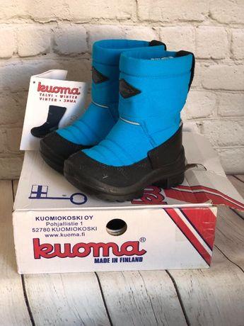 Зимние сапоги Kuoma без шнурков для мальчика 23 (14.5 см)