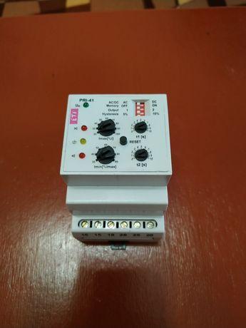 Реле контроля потребляемого тока PRI-41 230V AC, 3 диапазона (2×16А),