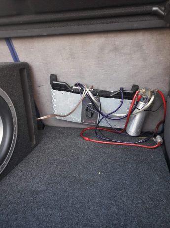 Sprzedam sprzęt nagłaśniający lub zamiana na radio 2 Din