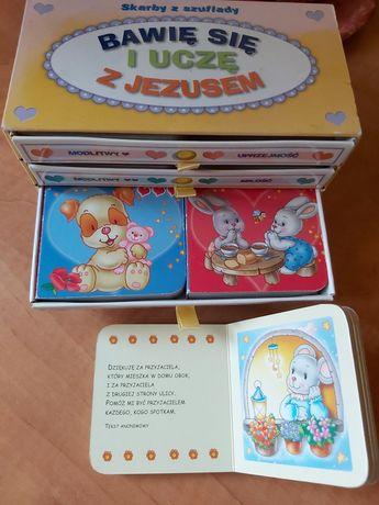 Bawię się i uczę z Jezusem. 6 mini książeczek dla Dzieci w szufladkach