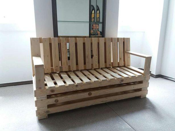 Sofás em Paletes madeira