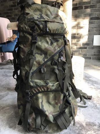 Plecak wojskowy moro ze stelażem plus maly plecak moro