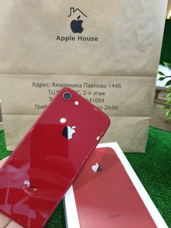 Магазин iPhone 8 64 red neverlock Оригинал Гарантия 6мес Идеал
