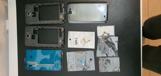 Galaxy note 2 gt-n7100 peças originais lote